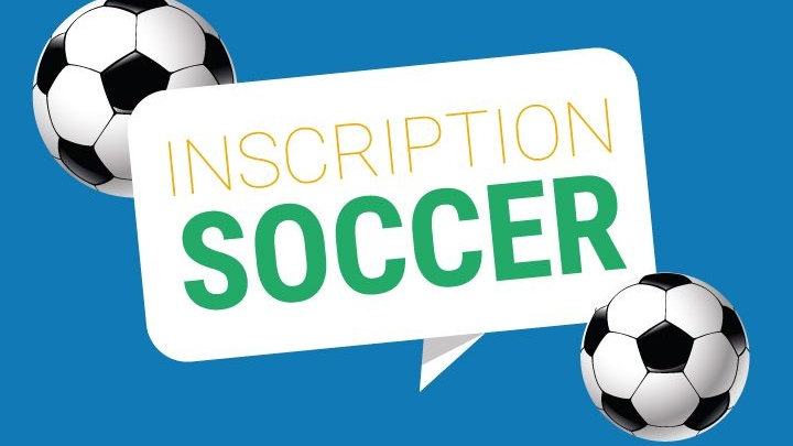 Inscription de soccer été 2019